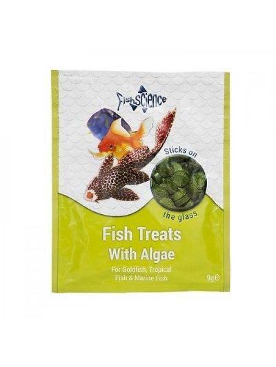 FishScience Fish Treats With Algae 9g
