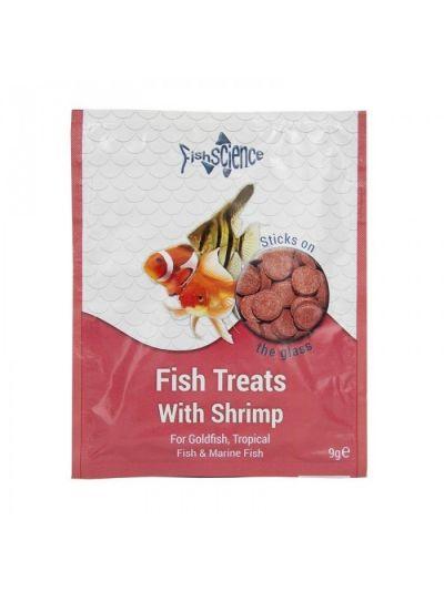 FishScience Fish Treats With Shrimp