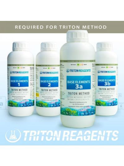 Triton Base Elements 1,2,3a, 3b  (4 x 1000ml set)